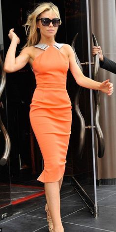 #street #fashion orange @wachabuy