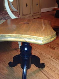 Vintage piano stool. Refinished, and perfect as an adjustable side table.