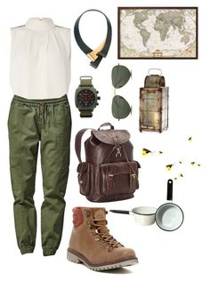 """""""Camping"""" by mia-a-oviatt on Polyvore featuring Y.A.S, Bullhead Denim Co., Briston, Marni, Coolway, Ropin West, Ray-Ban, Cyan Design, women's clothing and women"""
