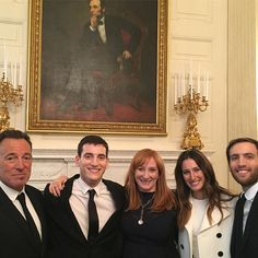 #lincoln @whitehouse Last family picture!!! So glad to have the family with us!!!