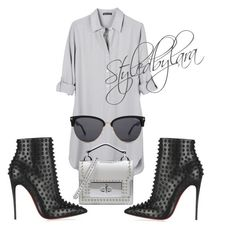 """"""""""" by lahraog on Polyvore featuring United by Blue, Christian Louboutin, Marc Jacobs and Tom Ford"""