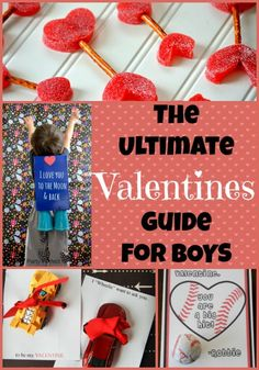 Awesome round up! The Ultimate List of Valentine Ideas for Boys - Mom vs the Boys