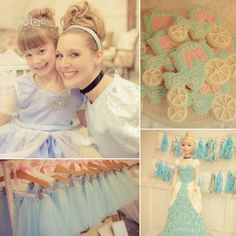 Ally's Bibbidi Bobbidi Boutique Royal Birthday Party with Cinderella