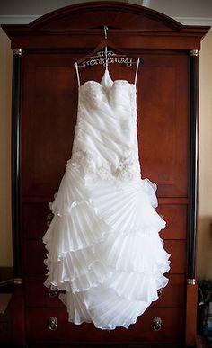 Bride's Dress from David's Bridal Montgomery Wedding Location: Monterey, CA