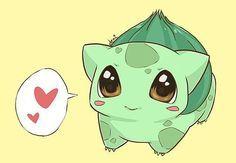 pokemon chibi it's a bulbasaur Pokemon Bulbasaur, Pokemon Go, Chibi, Pokémon Kawaii, Pokemon Mignon, Cute Pokemon Wallpaper, Pokemon Pictures, Catch Em All, Anime