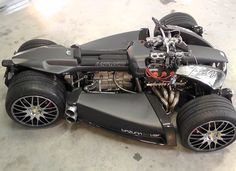 Introducing The Wazuma V8F: The 4Wheeler With A V8 Ferrari Engine & BMW M3 Gearbox (PHOTOS)
