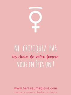 En cette journée de la femme, rien de tel qu'une petite piqûre de rappel #citation #berceaumagique #girlpower