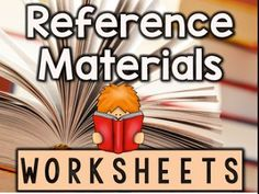 Great worksheets to use for testing prep!