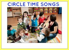 Circle time songs for the classroom! Really need to brush up and learn these!!!!