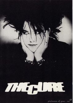 Robert Smith...this is my fave pic of him ever!