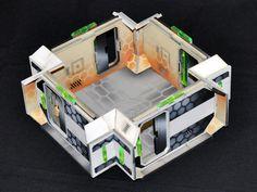 Lasercut terrain for infinity the game on www.terracutter.com