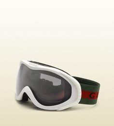 Gucci - lunettes de ski avec logo et bande gucci.