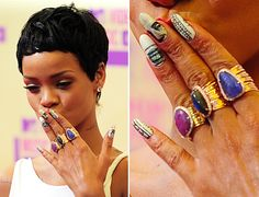 35 Mejores Imágenes De Rihanna Nails Rihanna Rihanna Uñas