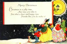 New Post 1920s christmas cards