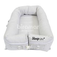 Sleep UM Listrado Cinza - Biramar Baby - ALT. 18 X LARG. 74 X PROF. 45