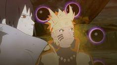 Naruto and Sasuke Vs Six Paths Madara Final Fight (English Sub) Naruto Shippuden:Ninja Storm 4