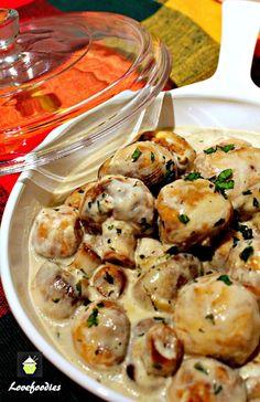 Creamy Garlic Mushrooms
