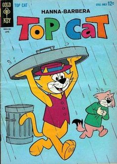 Top Cat I probably have just about all the Gold Key Top Cat comics in my collection, and many others as well