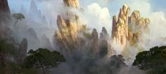 mists of pandaria concept art\ - Google Search