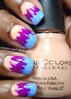 Scribble Nail Art | Nails Beautiqued
