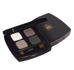 Devita Absolute Eyes Pressed Mineral Eye Shadow Quad (Platinum Smoke) #fragrancefree #vegan #crueltyfree