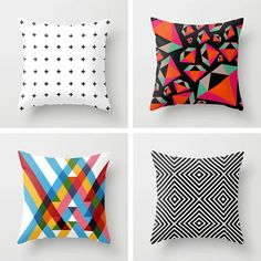 These pillows would make a great statement in your garden! Check it out...