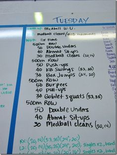 Chipper WOD - Great Saturday WOD