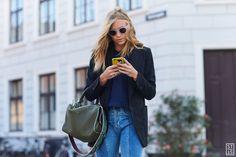 Tine Andrea during Copenhagen Fashion Week SS 2017 The Style Stalker by Szymon Brzóska Best Street Style