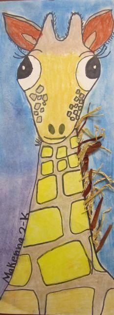 Second Grade giraffes