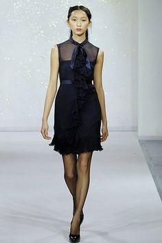 Luisa Beccaria Fall 2007 Ready-to-Wear Fashion Show - Anne Watanabe