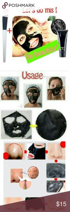 Makeup Brushes Mask Brush + Blackhead Remover Mask Feature: 100% Brand new and high quality Quantity:1pcs Color:As picture show Length:14cm Material:Man-made fiber  Describe: - Strawberry nose oily skin - Large pores nose blackheads - NET WT: 50g  Package including?: 1 pcs Mask brush 1pcs Mask Blackhead Remove? Makeup
