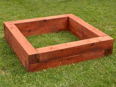 Dřevěné pískoviště střední (skládačka)
