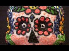 How to make Day of the Dead Sugar Skulls / Dia de los Muertos Calaveras Tutorial  http://www.youtube.com/user/chalicemagic