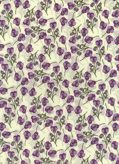 Ros in Lilac Liberty of London tana lawn fabric