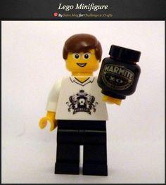 Marmite Lego Man via www.PearlandEarlLoves.com Star Wars Watch, Lego Man, Marmite, Geek Chic, Geek Stuff, Crafts, Geek Things, Manualidades, Handmade Crafts