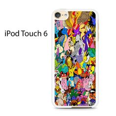All Pokemon Generation College Ipod Touch 6 Case