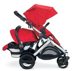 Amazon.com : Britax B-Ready Stroller 2012, Red : Infant Car Seat Stroller Travel Systems : Baby