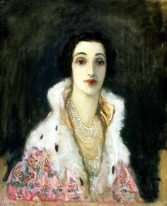 "fleurdulys: ""The Countess of Rocksavage - John Lavery 1922 """