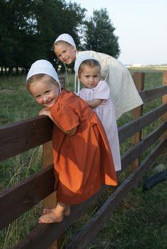 Little Amish Girls