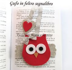 Fustellati feltro pannolenci on line stile big shot sizzix Hobbies For Kids, Hobbies To Try, Hobbies That Make Money, Diy Crafts To Sell, Crafts For Kids, Felt Crafts, Paper Crafts, Felt Bookmark, Diy Y Manualidades