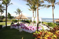 New wedding set up at Puri Salila, Anapuri Villas.