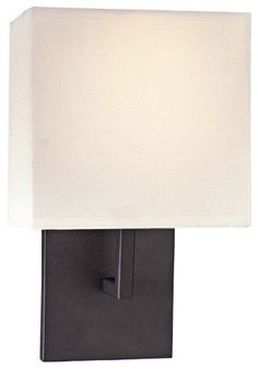 Fabric Wall Sconce - modern - wall sconces - Lumens