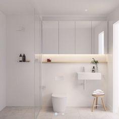 19 New Ideas Apartment Bathroom Renovation Simple Bathroom Layout, Modern Bathroom Design, Bathroom Interior Design, Bath Design, Bathroom Cupboards, Bathroom Toilets, Bathroom Tubs, Compact Bathroom, Dyi Bathroom
