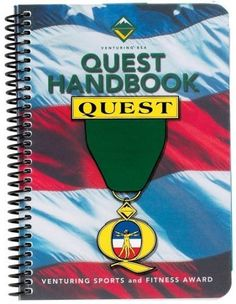Quest Handbook Quest (Venturing Sports and Fitness Award) by Boy Scouts Of America