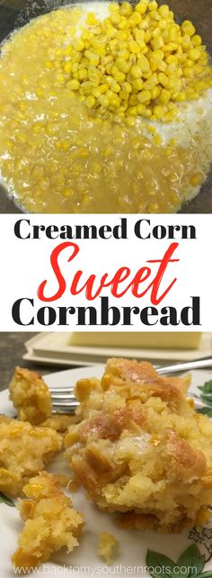 Jiffy Cornbread with Creamed Corn - Back To My Southern Roots