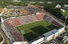 Estádio Joaquim Henrique Nogueira (Arena do Jacaré) - Sete Lagoa (MG) - Capacidade: 19,8 mil