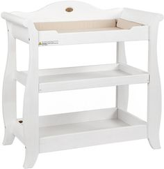 Boori Sleigh Changer White   Change Tables   Cots, Changetables, Furniture  | The One
