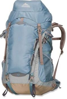 The women's Gregory Sage 35 Pack is ready for adventure.