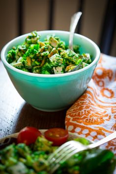 Chimichurri Chicken Salad from healthyseasonalrecipes.com #paleo #lowcarb #chicken