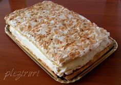 Prajitura Cake Recipes, Dessert Recipes, Romanian Food, Romanian Recipes, No Cook Desserts, Sweet Tarts, Dessert Drinks, Diy Food, Food Ideas